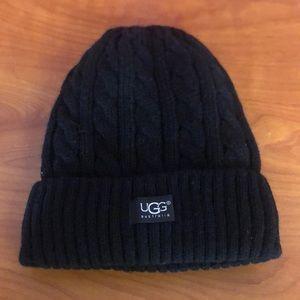 Black UGG hat